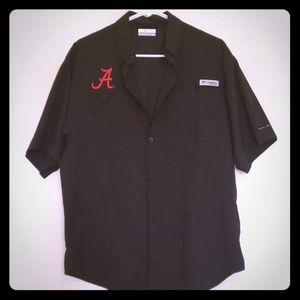 Men's Columbia PFG Atlanta Braves Shirt